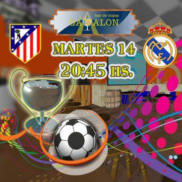 Champions League Atlético de Madrid vs Real Madrid