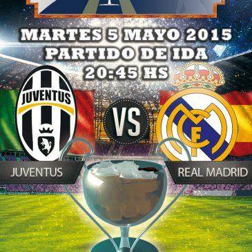 Semifinal Champions Juventus vs Real Madrid ida