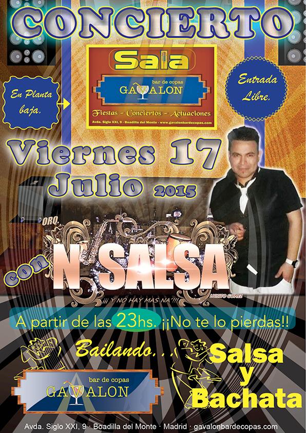 concierto salsa y bachata
