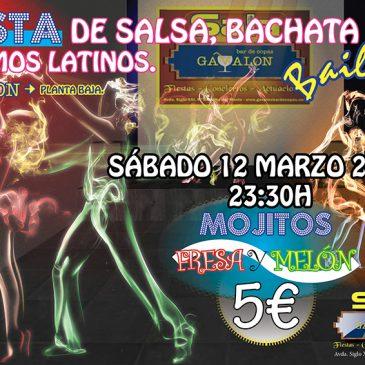Salsa y Bachata Fiesta, Ritmos Latinos.