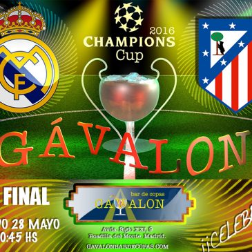 Real Madrid Vs Atlético de Madrid, Final Champions 2016