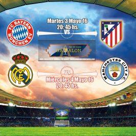 Semifinales Champions League