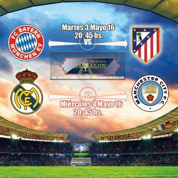 Semifinales Champions  League 2016