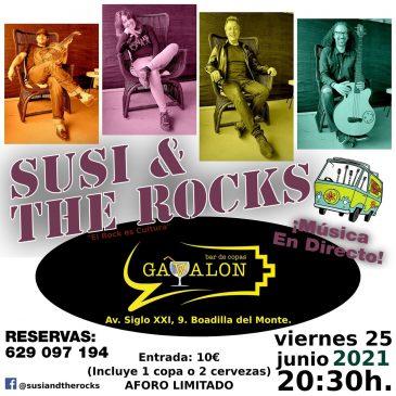 Concierto Susi & The Rocks, Sala Gávalon